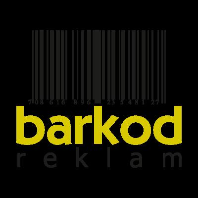 Barkod reklam logo vector logo