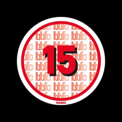 BBFC 15 Certificate UK logo vector logo