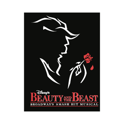 Beauty and the Beast logo vector logo