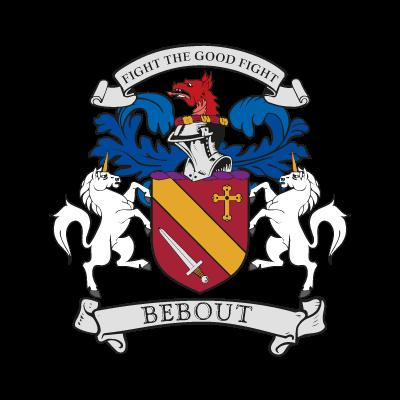 Bebout Family Crest logo vector logo