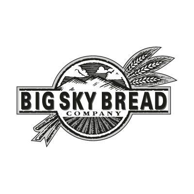 Big Sky Bread logo vector logo
