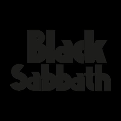 Black Sabbath 1986 logo vector logo
