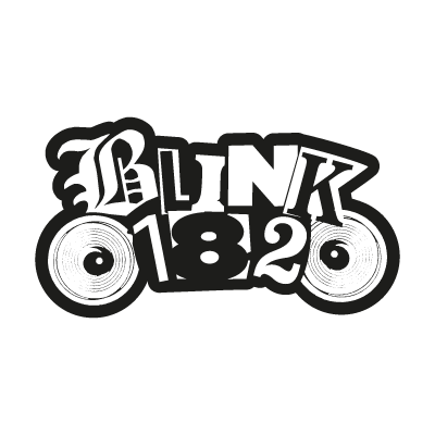 Blink182 logo vector logo