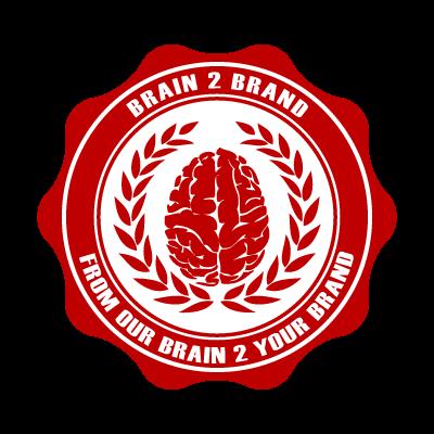 Brain2Brand logo vector logo