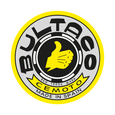 Bultaco logo vector logo