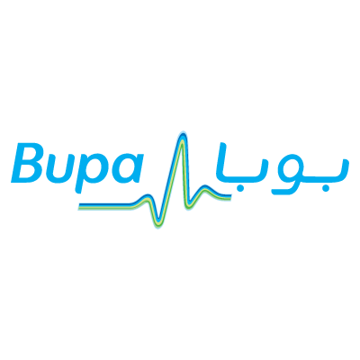BUPA Middle East logo vector logo