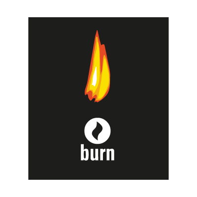 Burn logo vector logo