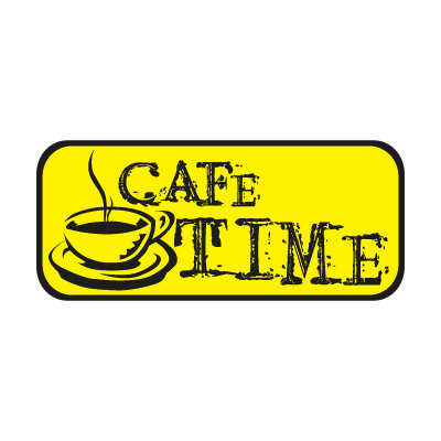 CAFE TIME logo vector logo