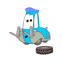 Cars Guido vector