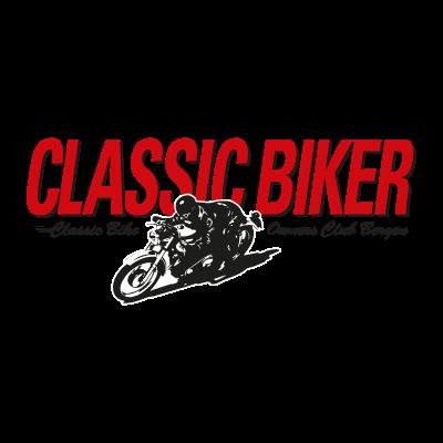 Classic Biker logo vector logo