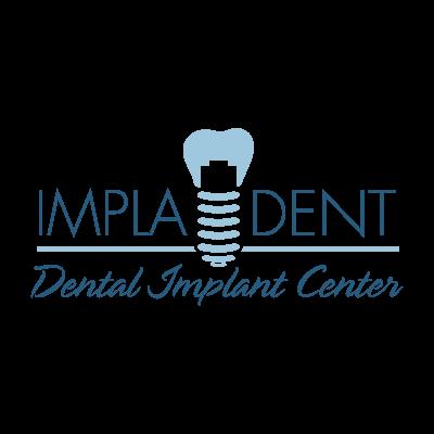 Clinica dental Impladent logo vector logo