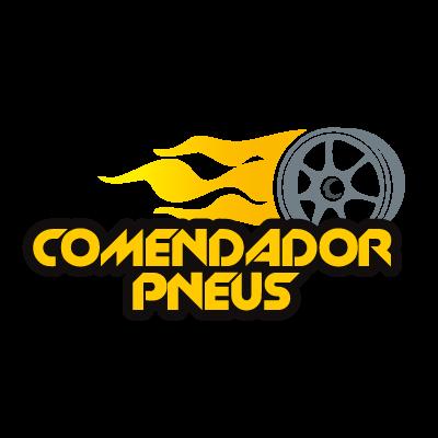 Comendador pneus logo vector logo