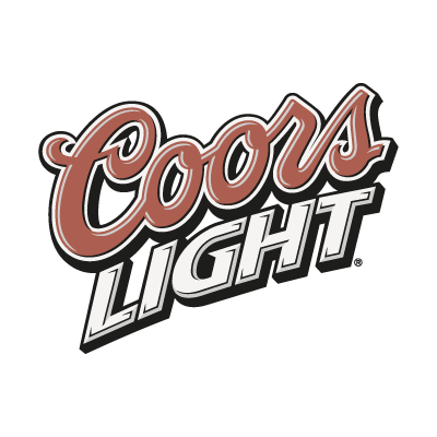 Coors Light Slant logo vector logo