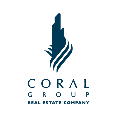 Coral Group logo vector logo