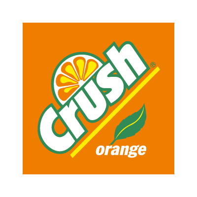 Crush Orange logo vector logo