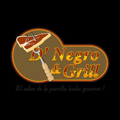 D' Negro & Grill logo vector logo