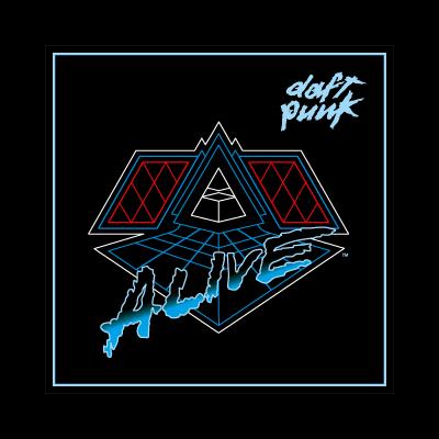 Daft Punk Alive 2007 logo vector logo