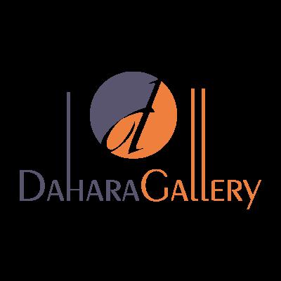 Dahara Gallery logo vector logo