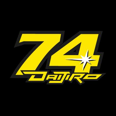 Daijiro Kato 74 logo vector logo