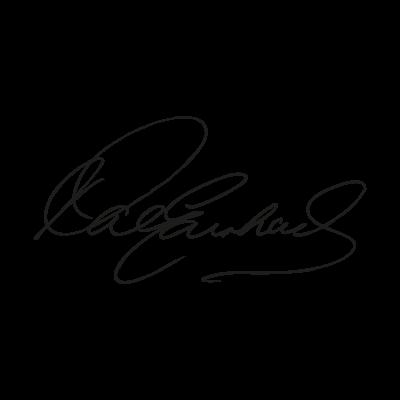 Dale Earnhardt Signature logo vector logo