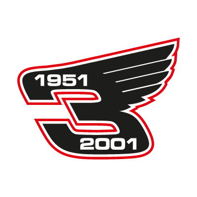 Dale Earnhardt Wings logo vector logo