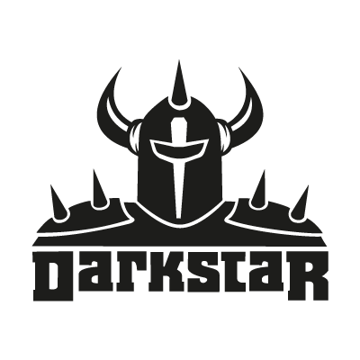 Darkstar Black logo vector logo
