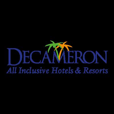Decameron logo vector logo