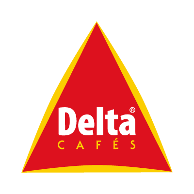 Delta Cafe logo vector logo