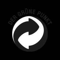 Der Grune Punkt Black vector
