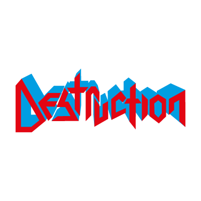 Destruction logo vector logo