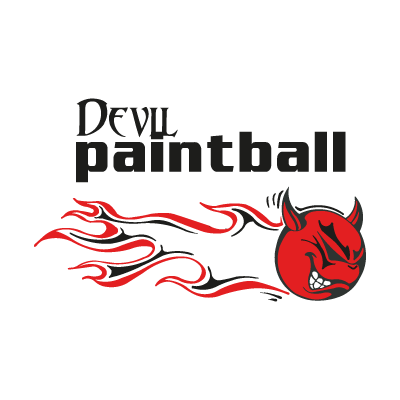 Devil Paintball logo vector logo
