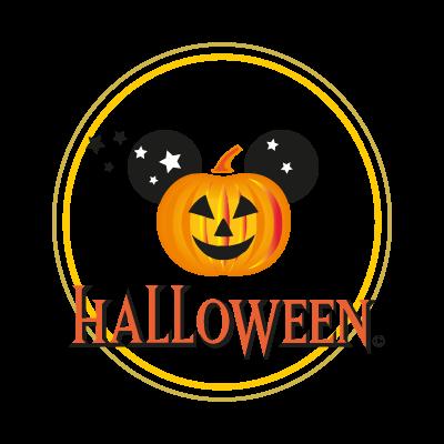 Disney Halloween vector logo