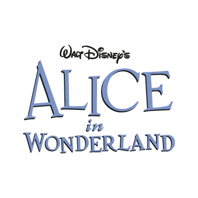 Disney's Alice in Wonderland logo vector logo