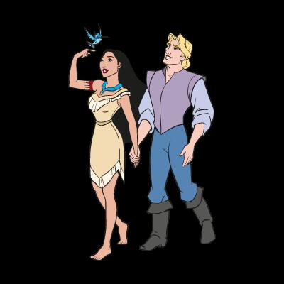 Disney's Pocahontas vector logo