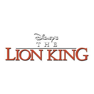 Disney's The Lion King logo vector logo