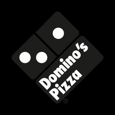 Domino's Pizza Black logo vector logo