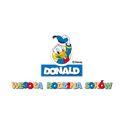 Donald Disney logo vector logo