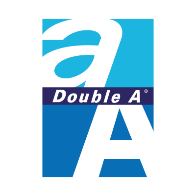 Double A logo vector logo
