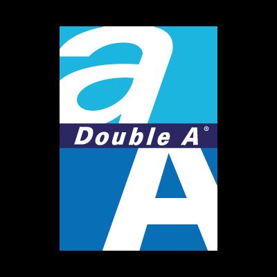 Double A logo vector logo