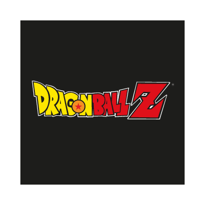 Dragon Ball Z Black logo vector logo