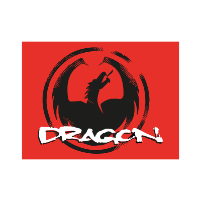 Dragon Optical logo vector logo
