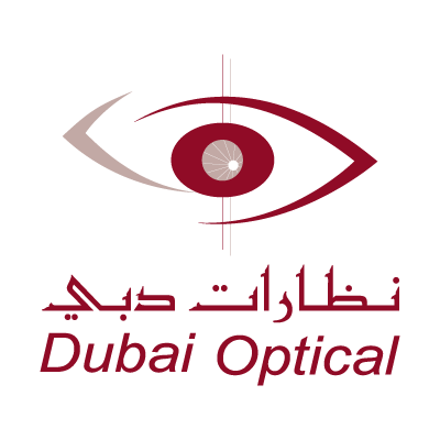 Dubai Optical logo vector logo