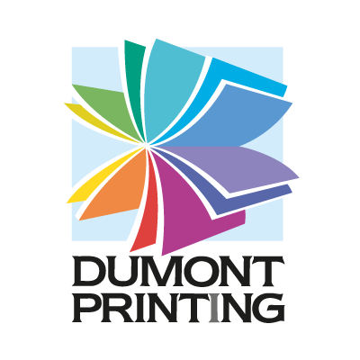 Dumont Printing logo vector logo