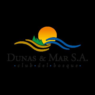 Dunas&Mar logo vector logo