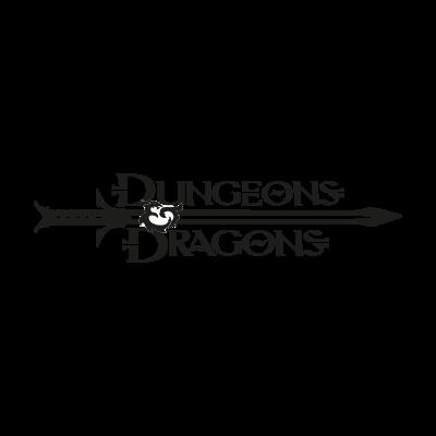 Dungeons & Dragons logo vector logo