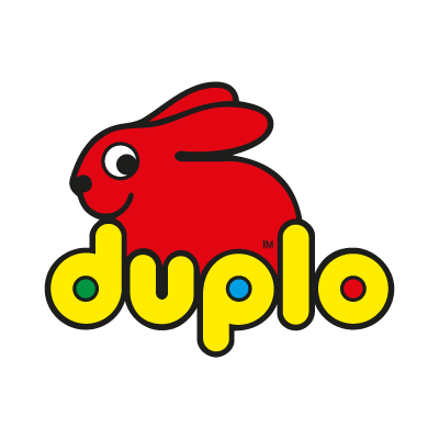 Duplo Lego logo vector logo