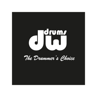 DW Drums logo vector logo