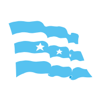 Flag of Guayaquil vector
