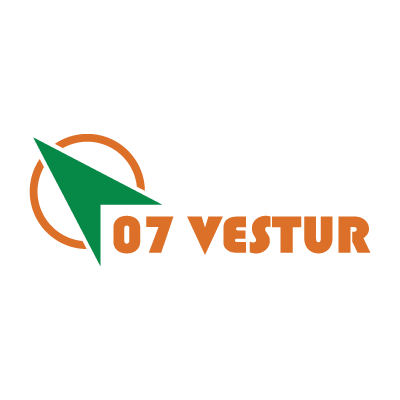 07 Vestur logo vector logo