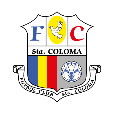 F.C. Santa Coloma logo vector logo